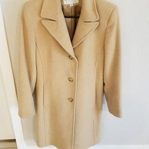 Larry Levine Camel Coat